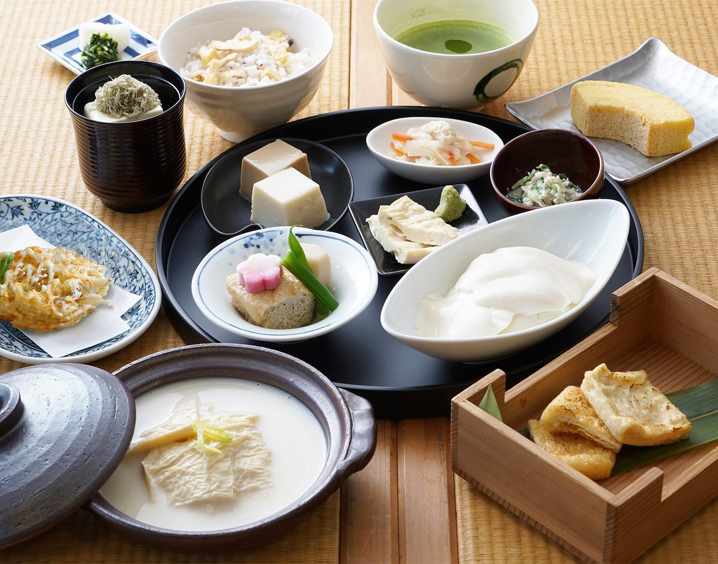 京豆富 不二乃 お食事メニュー