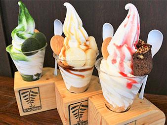 京とうふ藤野本店 カフェメニュー